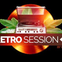 logo retro session Bblack Caribbean