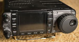 IC-7000 front view