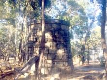 Stone tower on Mt Alexandra