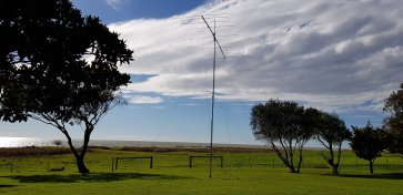 6el LFA2 Yagi and Spiderbeam Pole