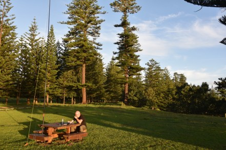 Operating portable on Norfolk Island in the Pacific