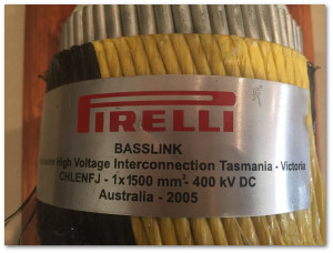 Examples of Basslink Cable