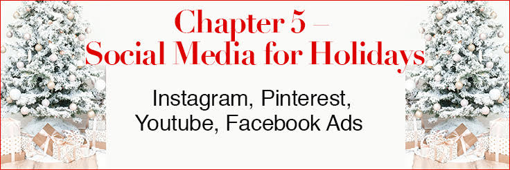 holiday marketing tips chapter 5 social media
