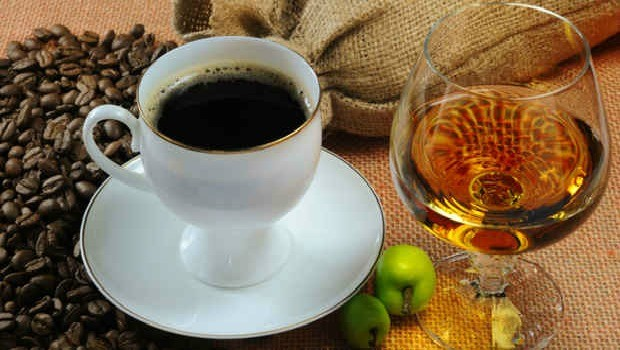 coffee, tea, alcohol