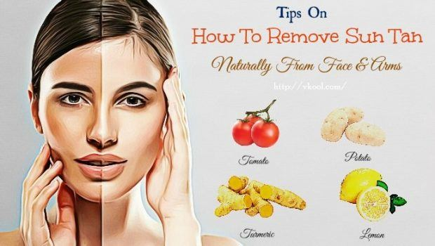 How To Remove Tan From Feet Naturally At Home
