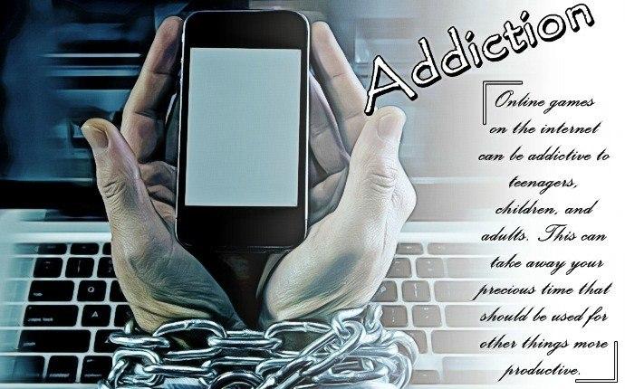 negative effects of internet - internet addiction
