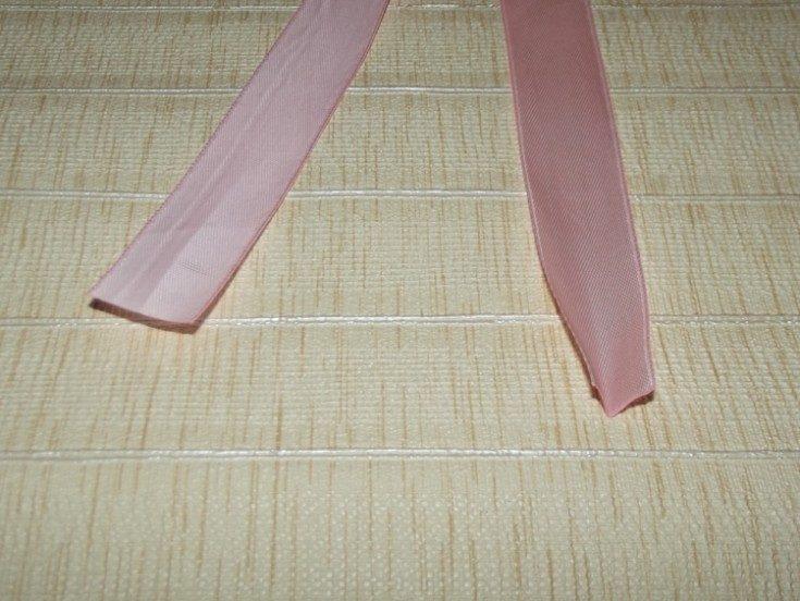 (+115 сурет) атласты ленталардан өз қолдарымен садақ