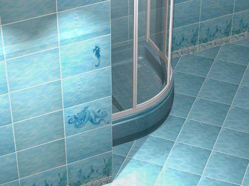 Варианты отделки ванных комнат и туалетов (62 фото) | VKSplus