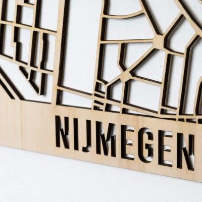 Stadskaart Nijmegen