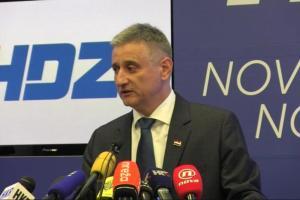 Tomislav Karamarko - Konferencija za medije HDZ-a