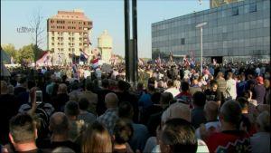 """Penava na prosvjedu u Vukovaru: """"Kao država smo jako zakazali kroz zakonodavnu, izvršnu i sudsku vlast"""""""