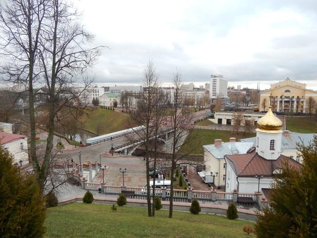 Вид с Успенской горки на город.