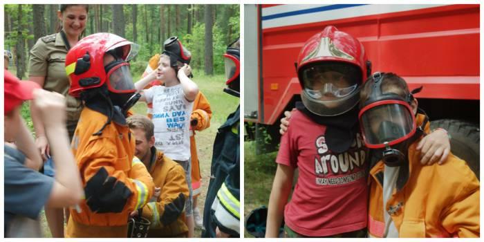 2 юных спасателя
