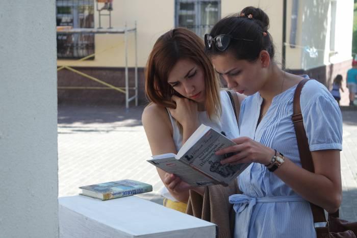 Особый интерес вызывали книги, выставленные для book crossing (обмен книгами)