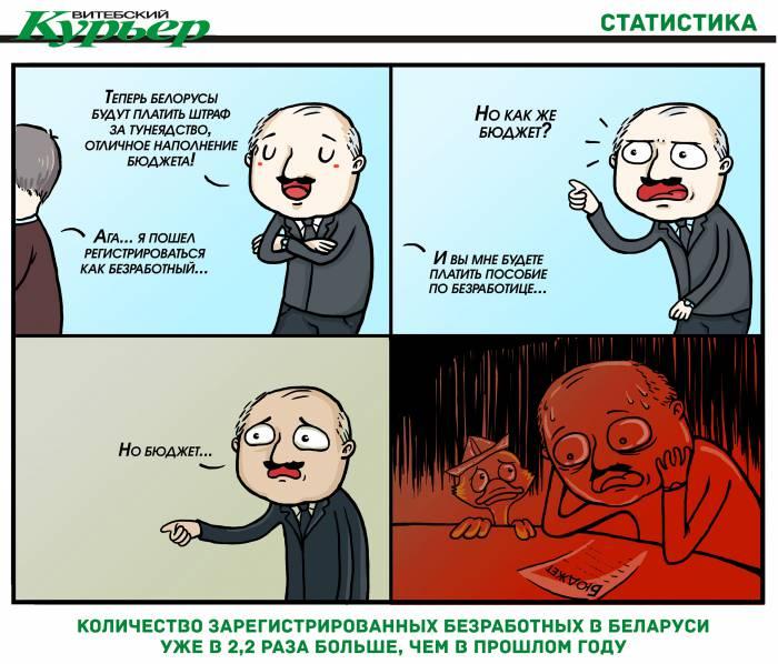 Белорусы и бюджет - тунеядство