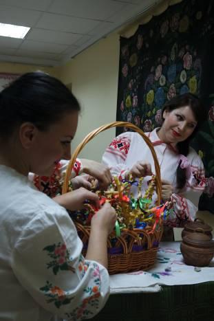 """""""Рогатый"""" каравай - традиционный элемент для Дубровенского района"""