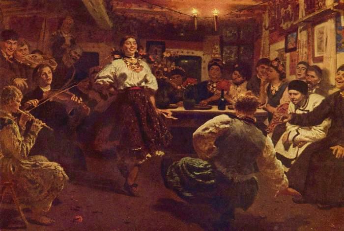 Илья Репин. Вечеринка