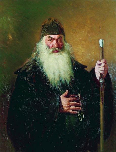 Илья Репин. Протодьякон