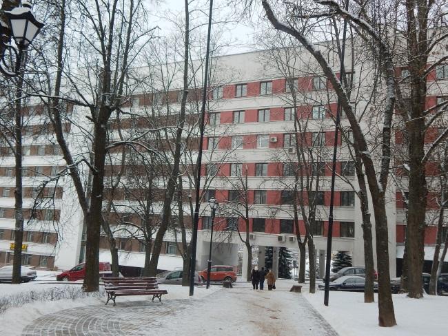 Улица Хмельницкого в наши дни. Памятника уже нет