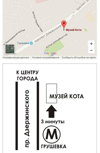 По этому адресу можно найти Музей Кота