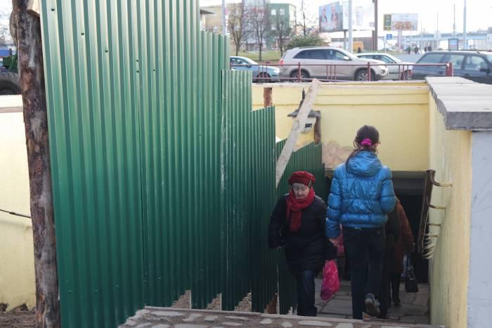 переход Московский