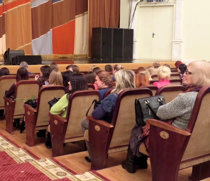 В зале преобладали женщины. Фото: Аля Покровская