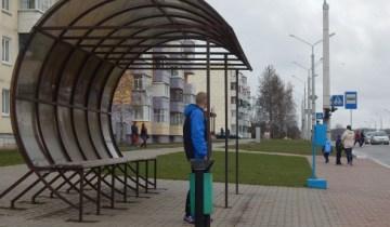 остановка автобусная, витебск, улица гагарина