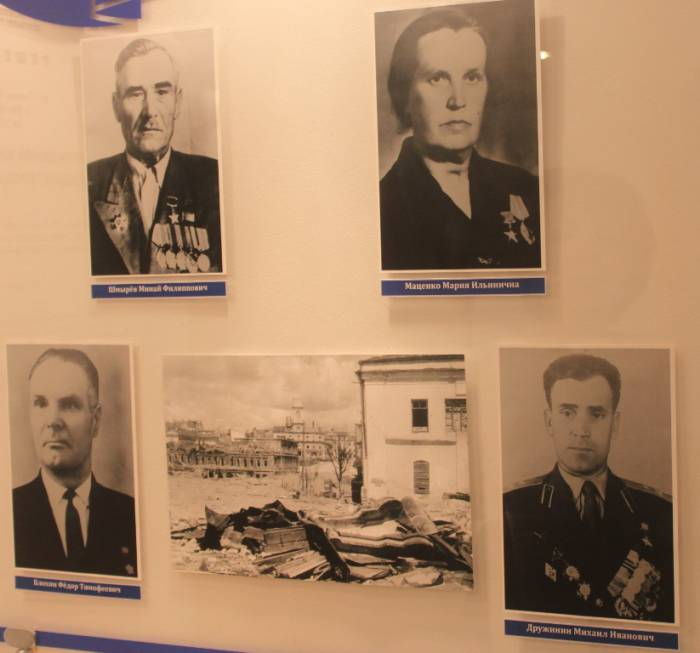 музей почетных граждан города Витебска, экспозиция