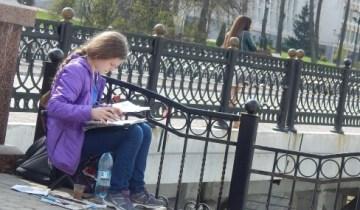 пасха, пушкинский мост