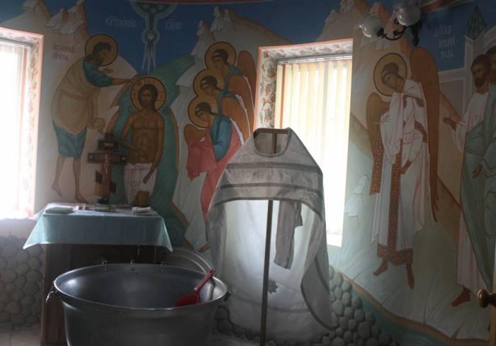 витебск, успенская церковь, крестильный зал
