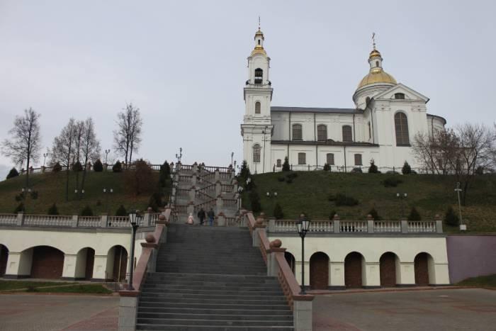витебск, успенский собор, лестница