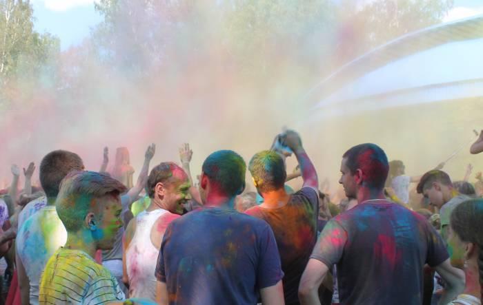 холи , витебск, фестиваль, краска