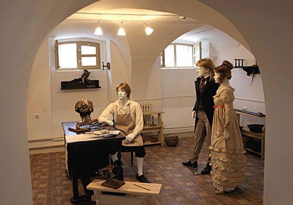 В подвальных помещениях дворца можно сделать отличные фотографии. Фото belarus.by