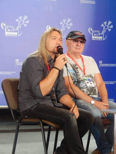 Петр Елфимов и Владислав Мисевич. Фото Евгения Москвина
