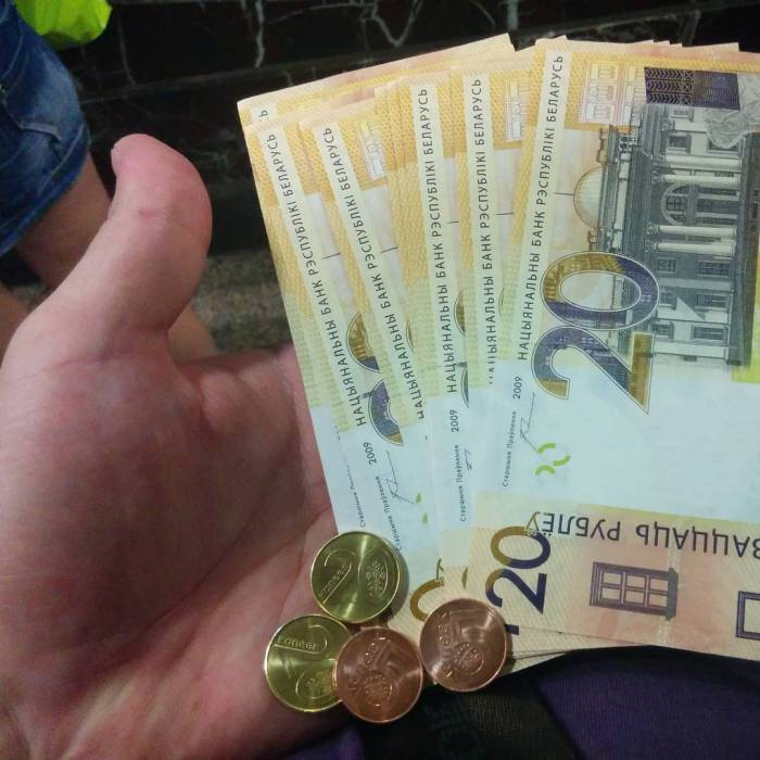 деноминация, беларусь, монеты