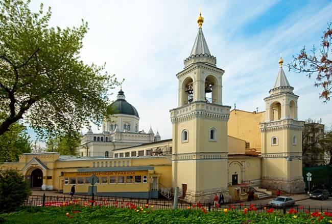 Иоанно-Предтеченский женский монастырь в Москве. Фото beztayn.ru