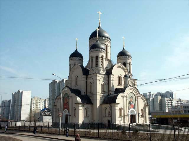 Храм иконы Божией Матери в Марьине. Фото all-pages.com