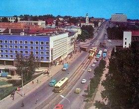Синий дом в Витебске