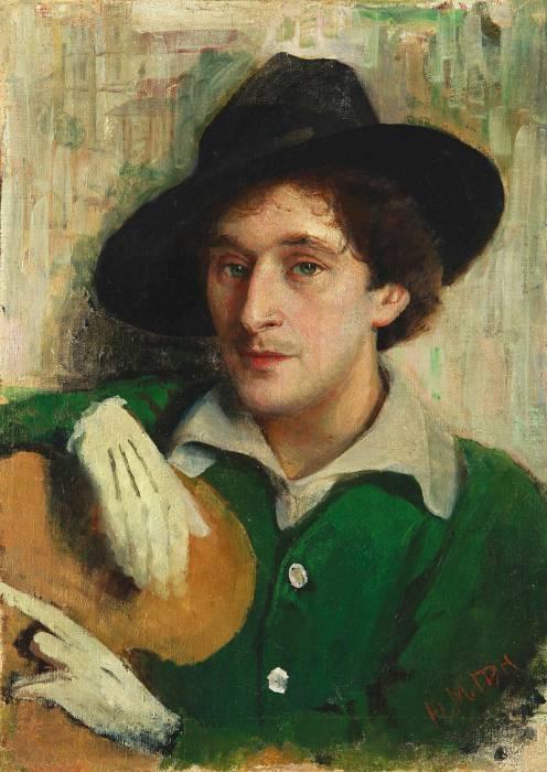 Портрет молодого Шагала кисти его учителя Пэна (1914). Фото ru.wikipedia.org