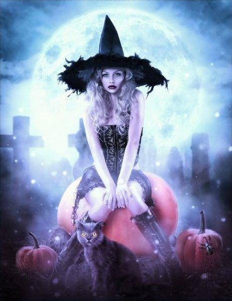 ведьма, Хэллоуин, Корженевский