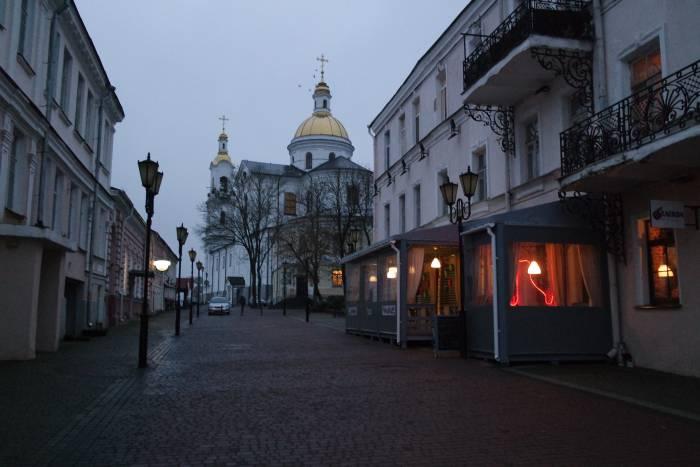 Исторические фасады города. Видите их? Фото Ольга Витебская