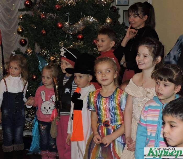 новый год, лялька, представление, дети