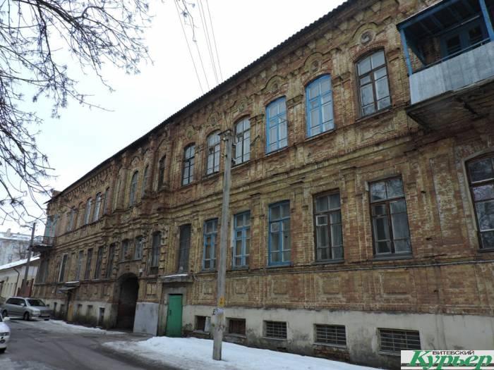 витебск, октябрьская, дореволюционное здание