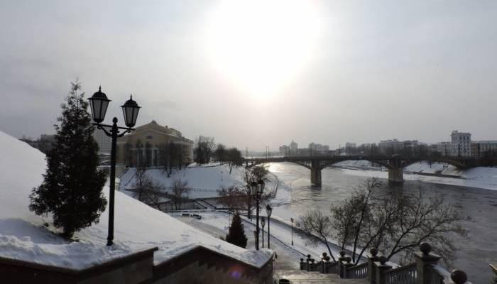 витебск, мороз, зима, снег