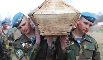 похороны солдат