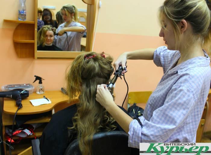 парикмахер, локоны, колледж