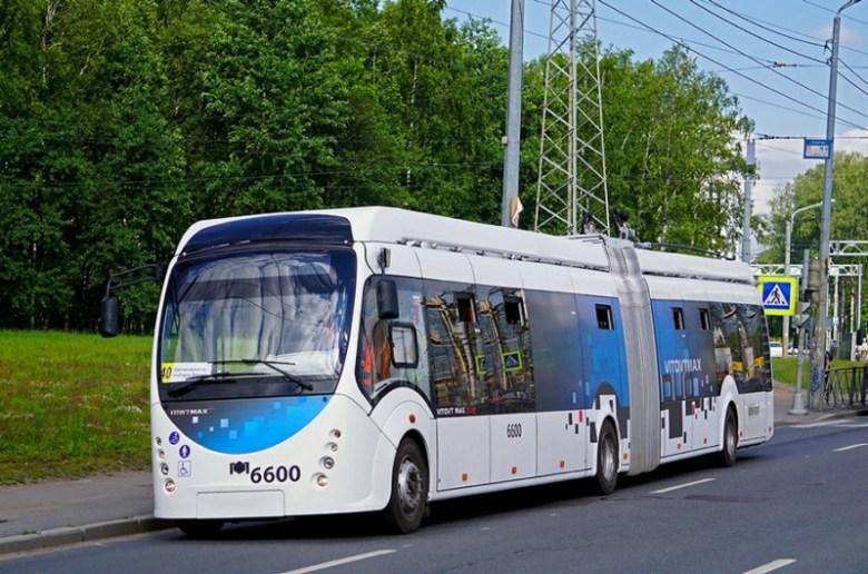 Специально для Витебска «Белкоммунмаш» разработал новую модель троллейбуса