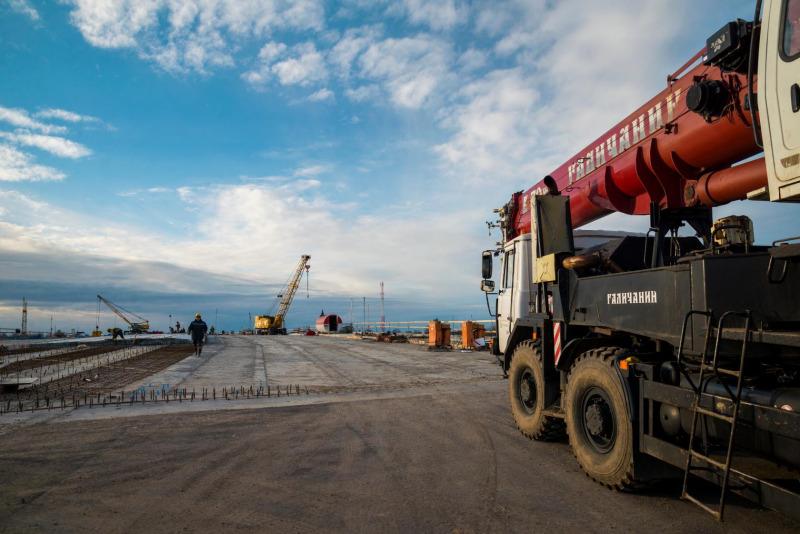 Как идёт строительство Полоцкого путепровода в Витебске — фото и видео