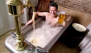 Алкоголь и пиво из крана