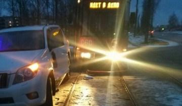 Авария трамвай
